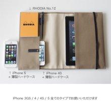 仕様とご注意事項1: iPad 帆布10ケース