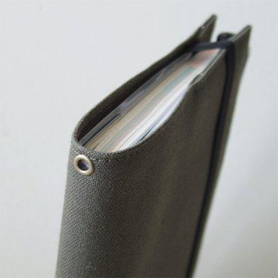 画像1: 帆布10カバーオプション ハトメ穴